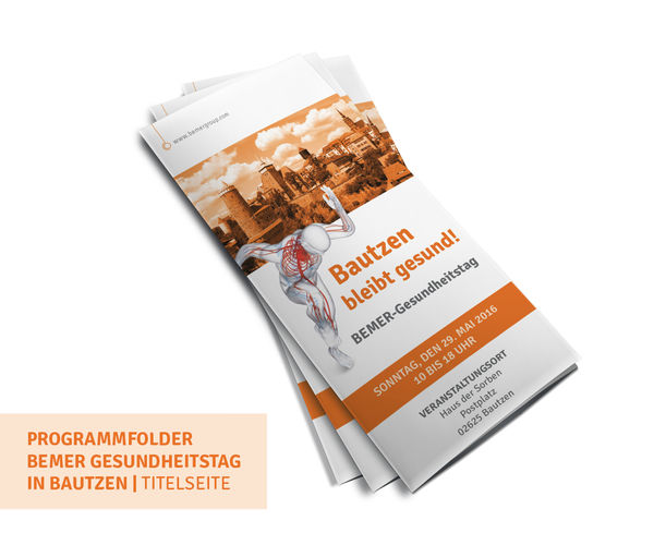 Programm-Folder für BEMER Group